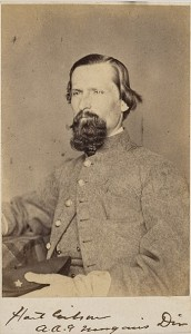 Hart Gibson, Randall's younger brother and a noted breeder of Kentucky Thoroughbreds, in Confederate cavalry uniform. Courtesy of Cowan's Auctions, Inc., Cincinnati, Ohio.