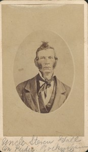 Stephen R. Wall of Rockingham, North Carolina, who freed his slave children to be raised in Ohio by radical Quaker abolitionists. Courtesy of the Charles Dean Collection, Archives & Special Collections, J.D. Williams Library, University of Mississippi.